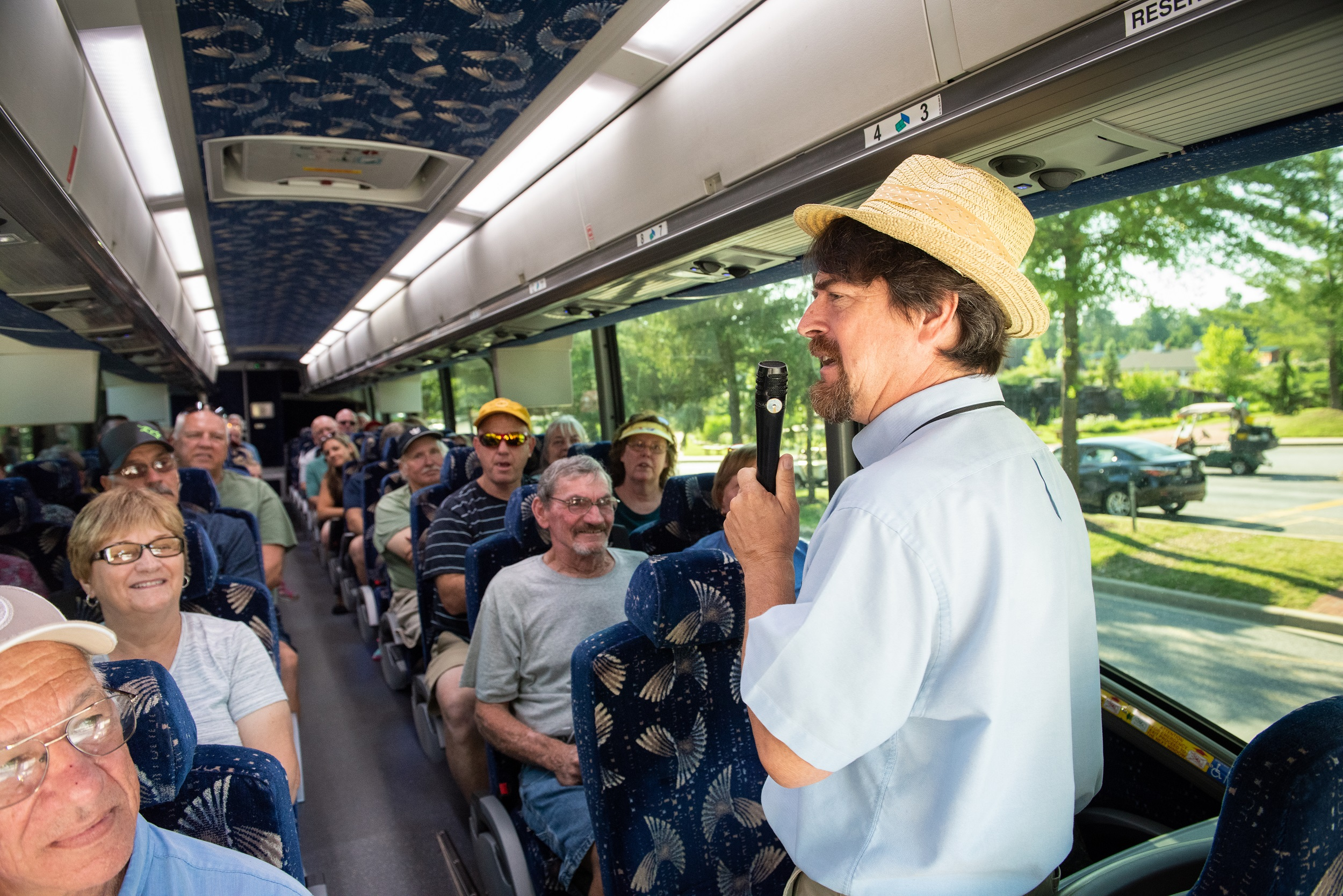 We run fully guided tours from the campground into downtown Washington, DC.