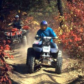 Ride out from you lot to the trails for all day fun!