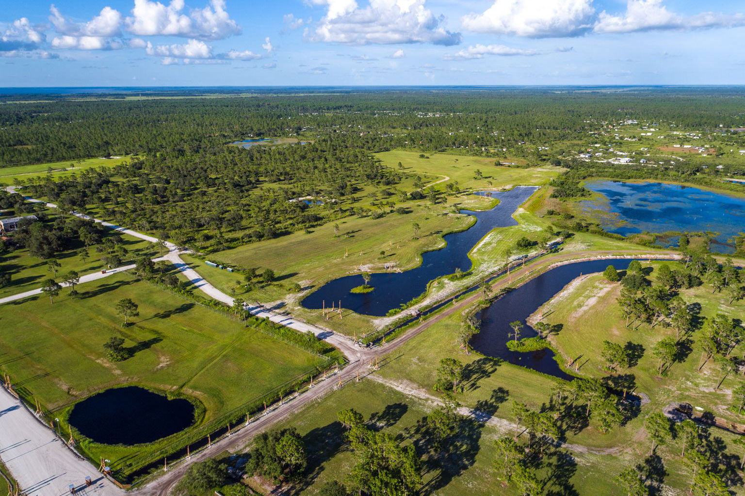 200+ Acres of Green Space, Trails, Fishing and more!