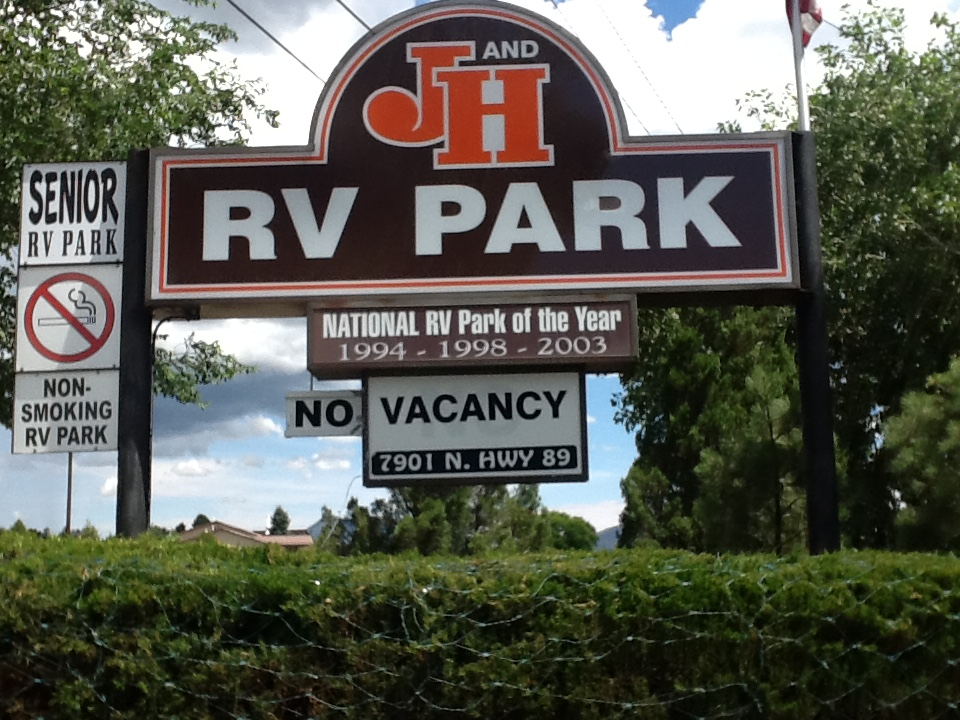 J&H Sign from N. 89