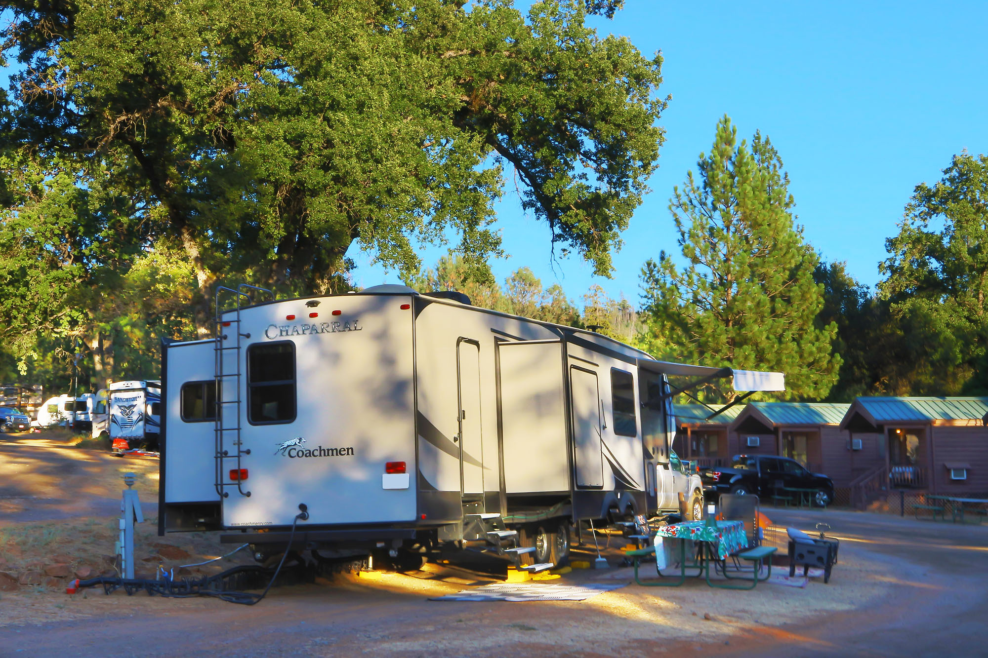 We can accommodate almost any type of RV.