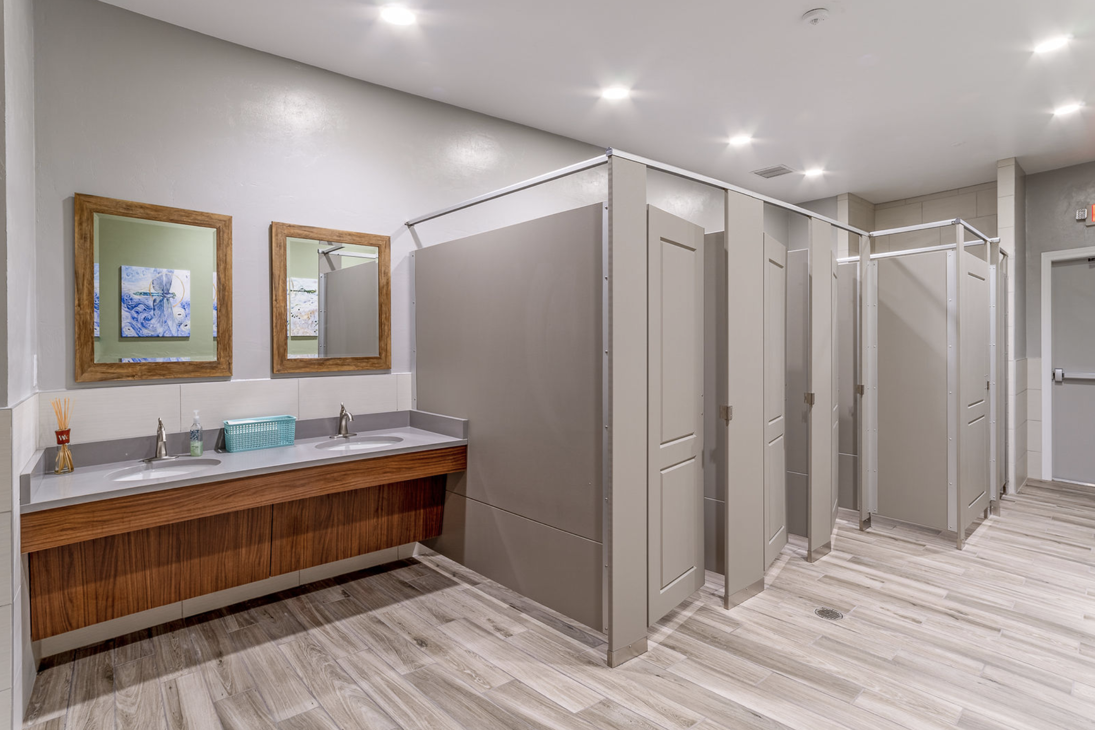 Clubhouse Restroom