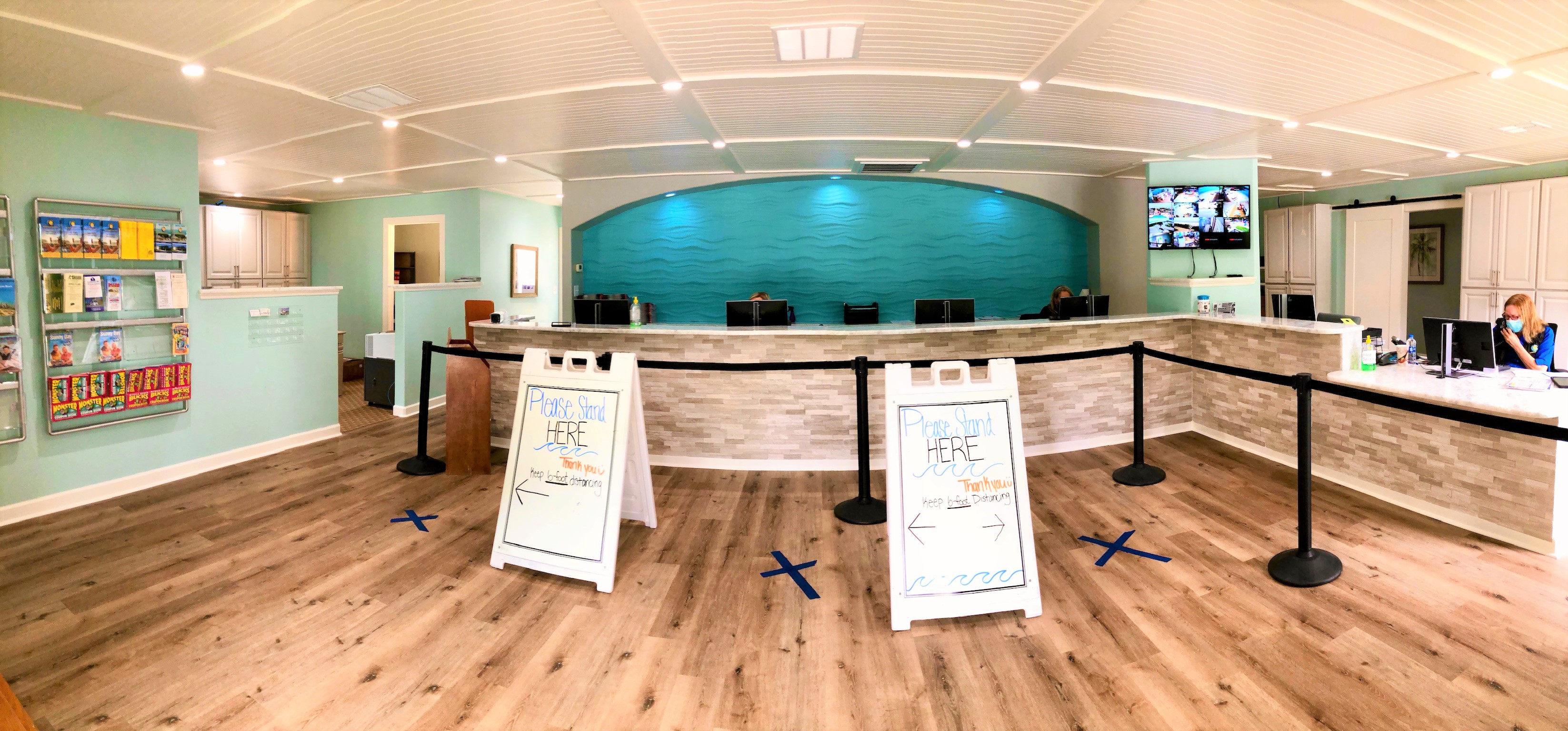 Check our our newly renovated Front Office!
