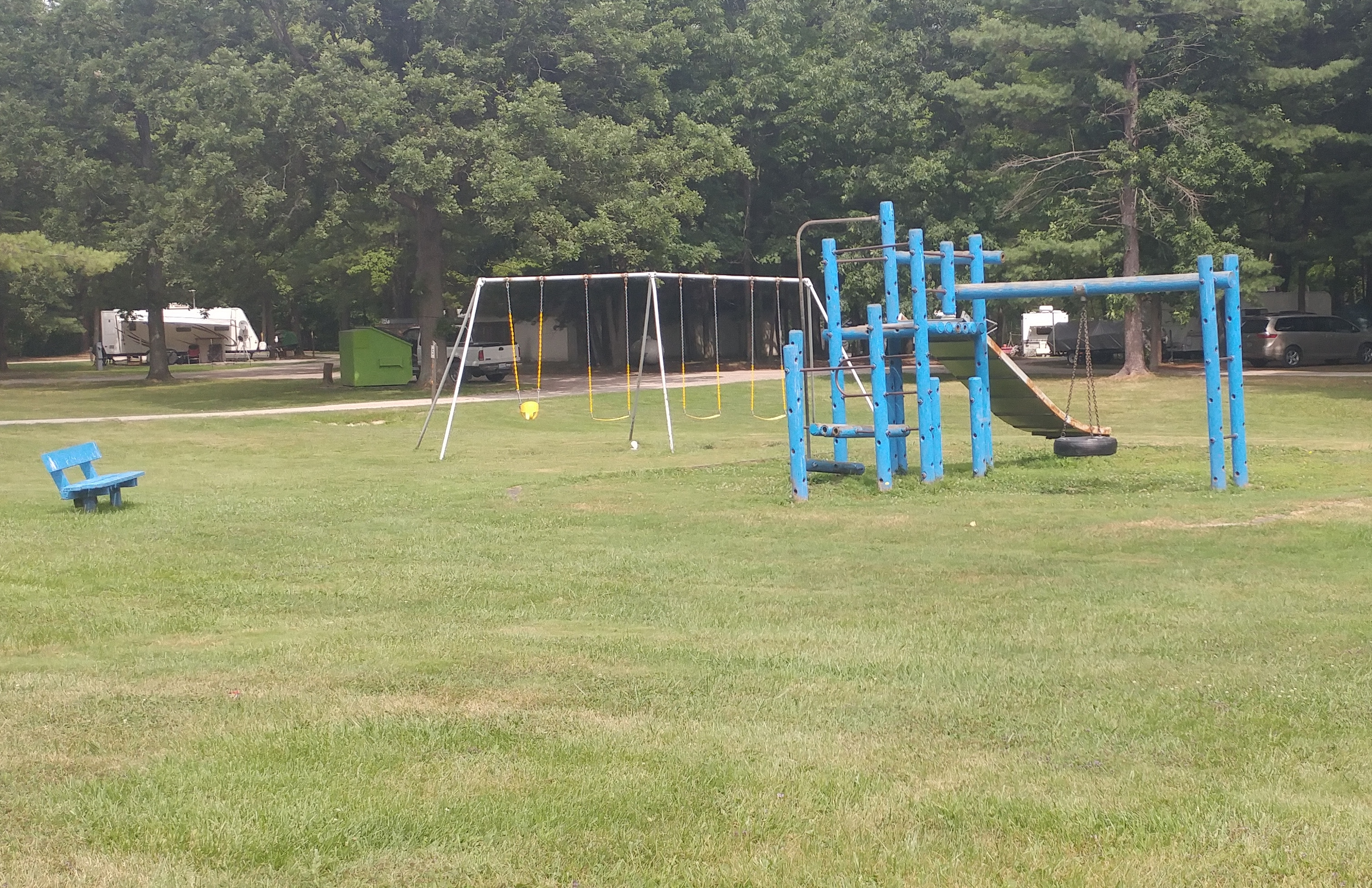 2 sections of kids playgrounds!
