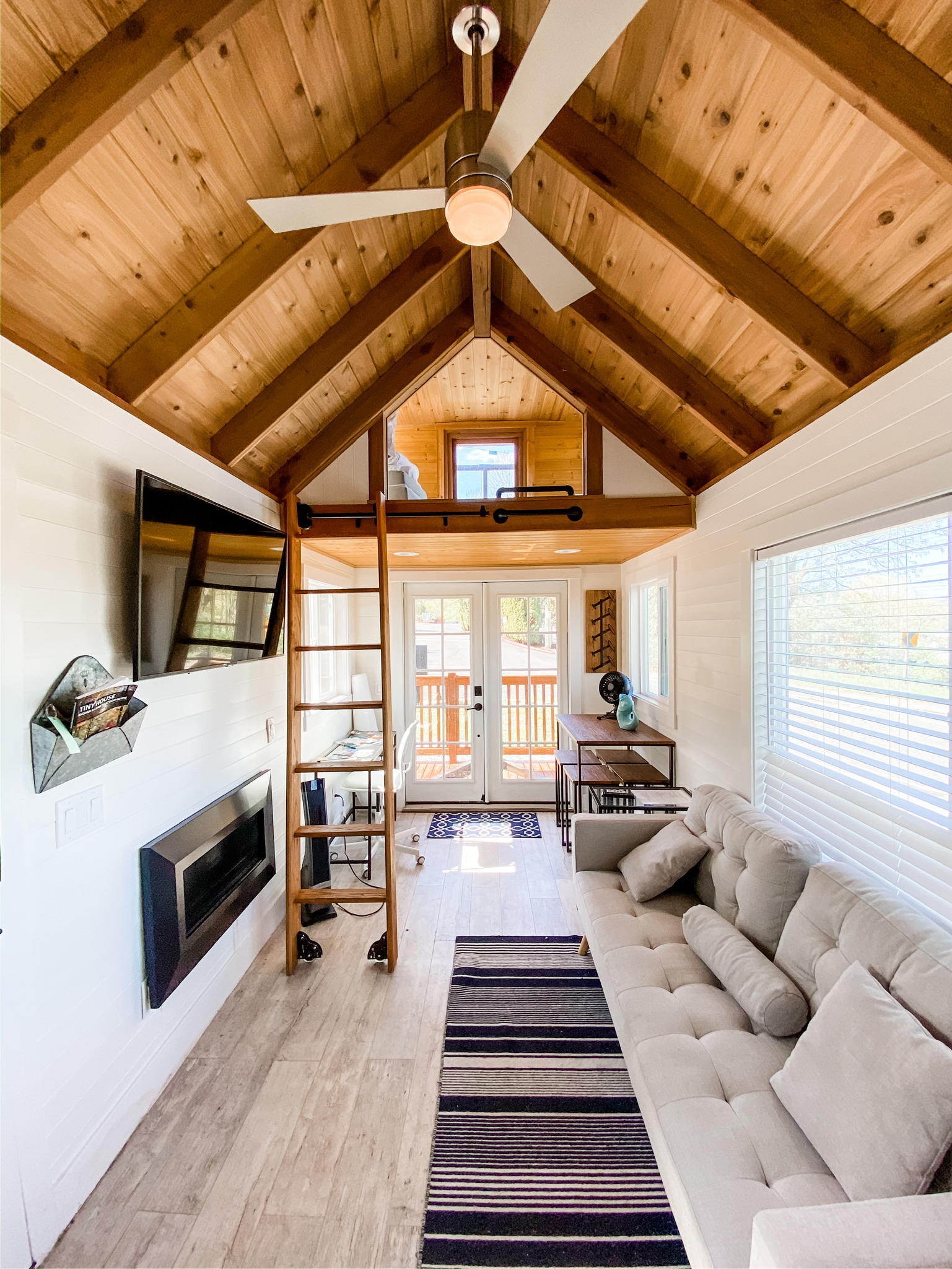 Tiny Retreat Living Room