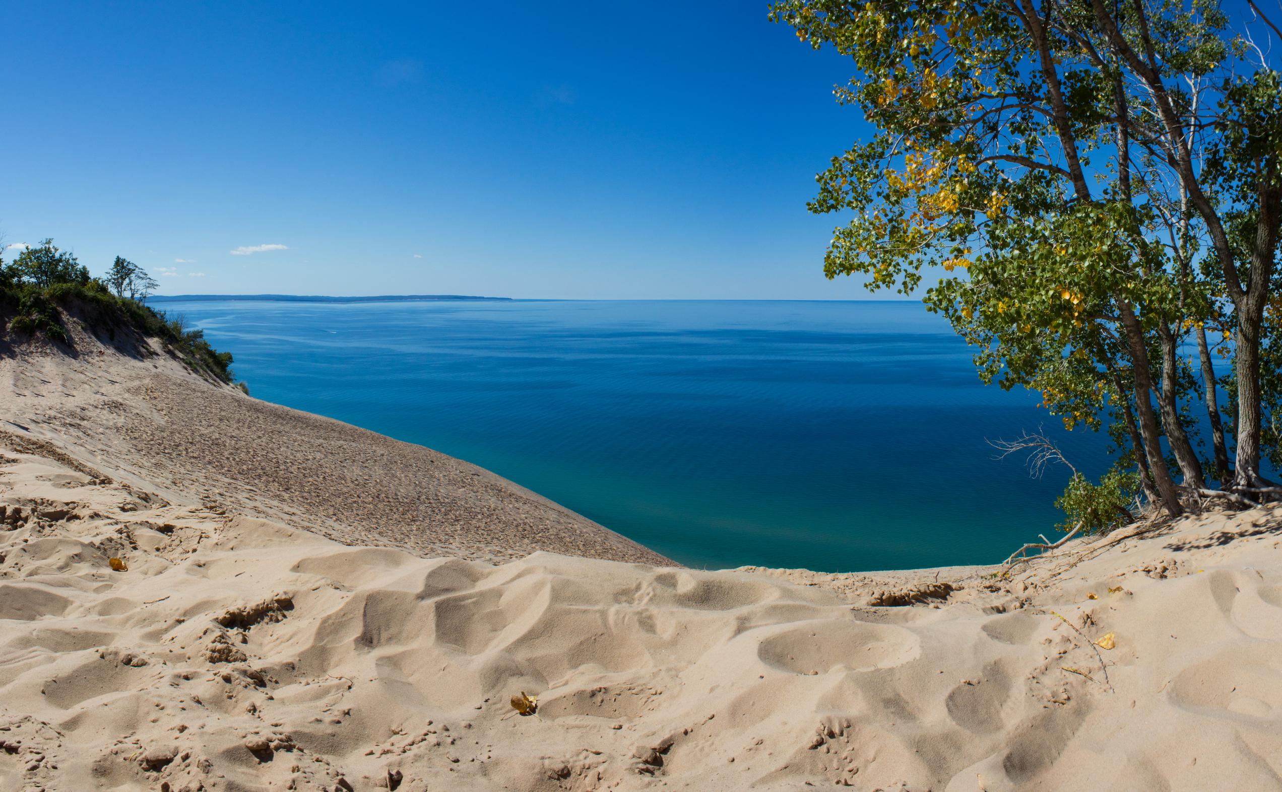 Dune overlook, one of many