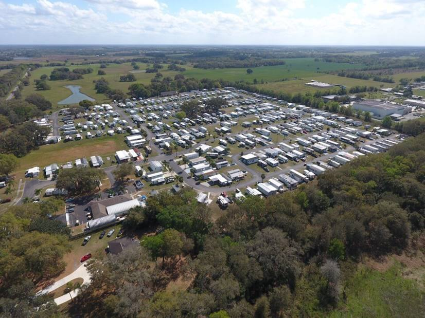 Morningside RV Estates Aerial Shot