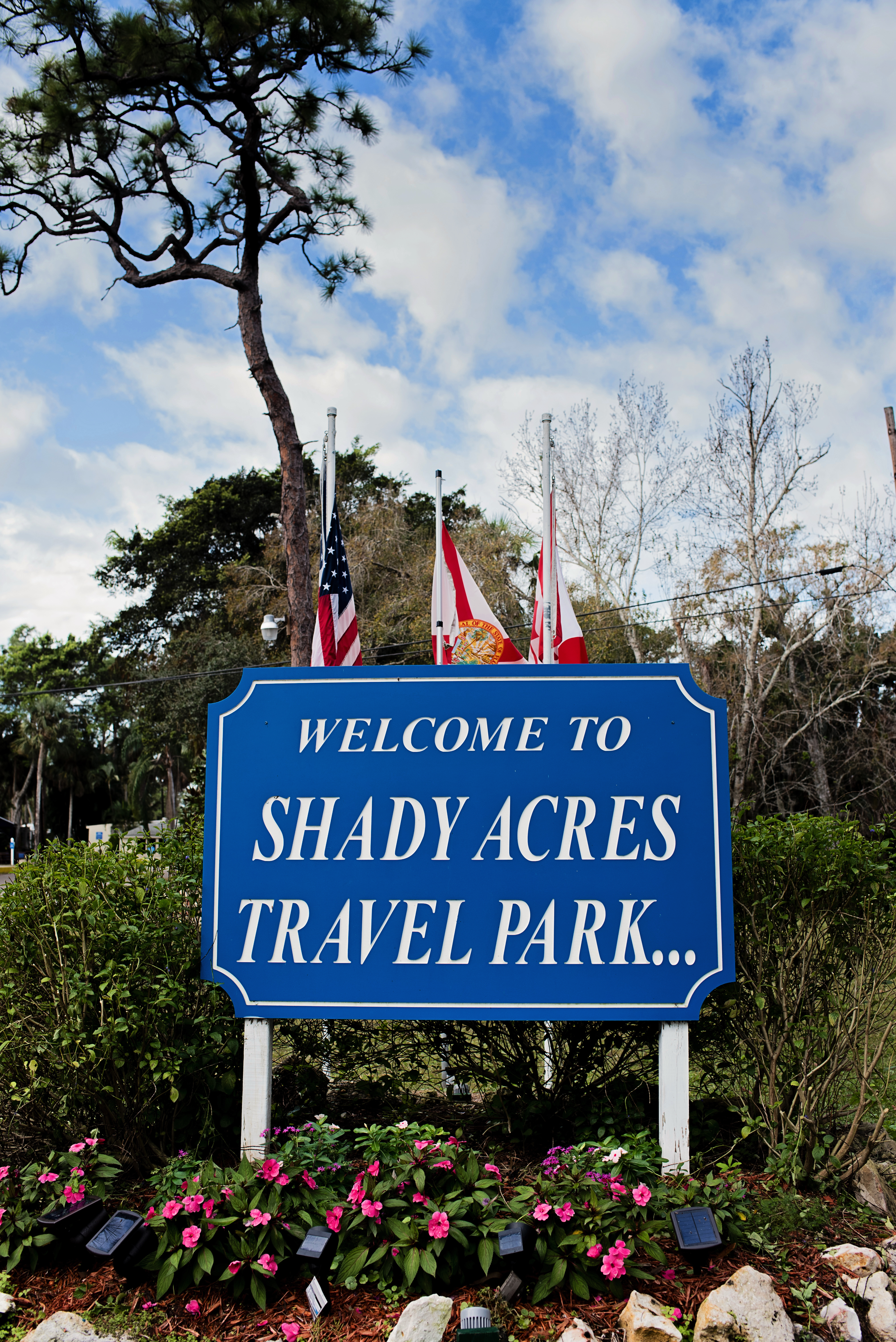 Welcome to Shady Acres RV Travel Park