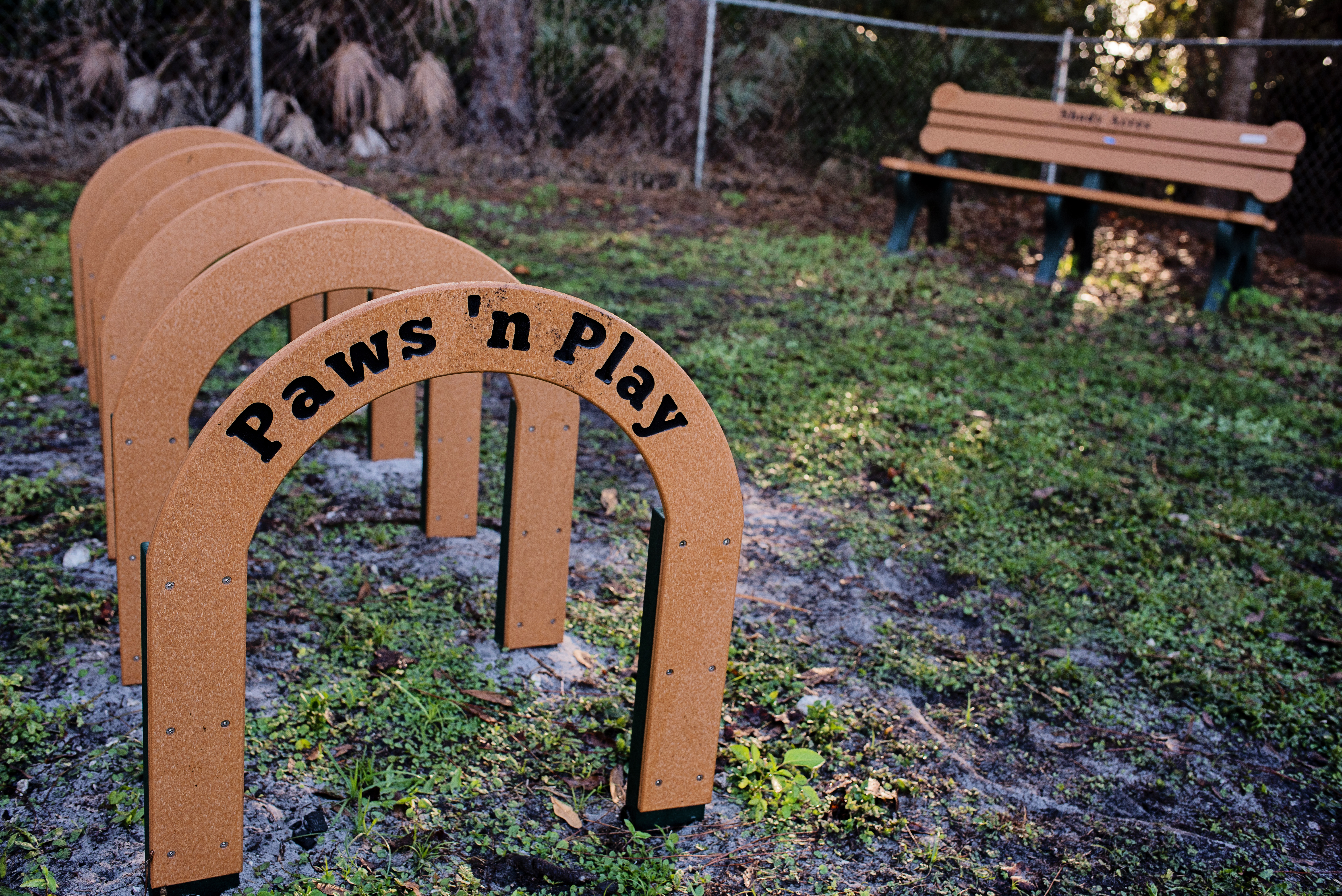 A great play space for your furry family!