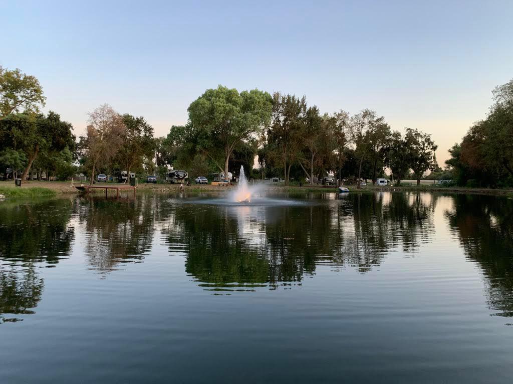 Riverbend Rv Park fully stocked 3 acre pond