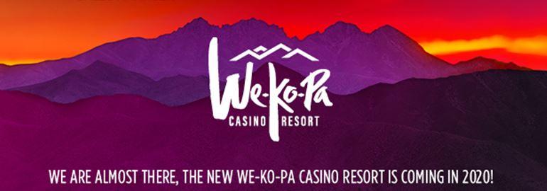 Opening 2020 Fall Wekopa Casino Resort just 1/4 mile