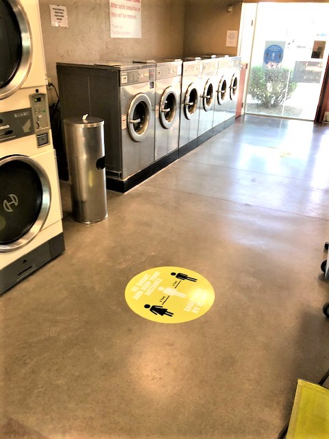 6 washers and 6 dryers
