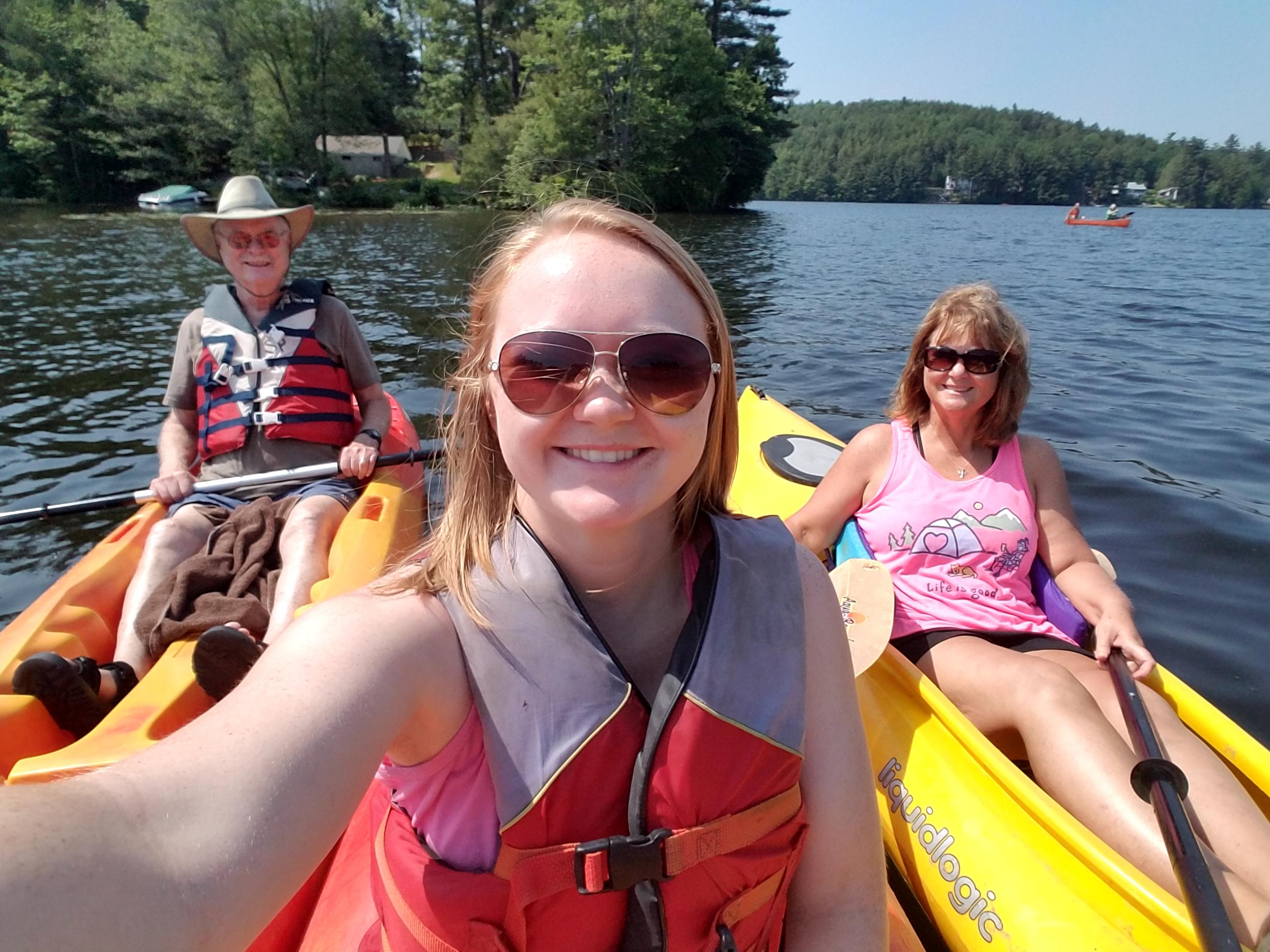 Rental Kayaks, Canoes, and Rowboats