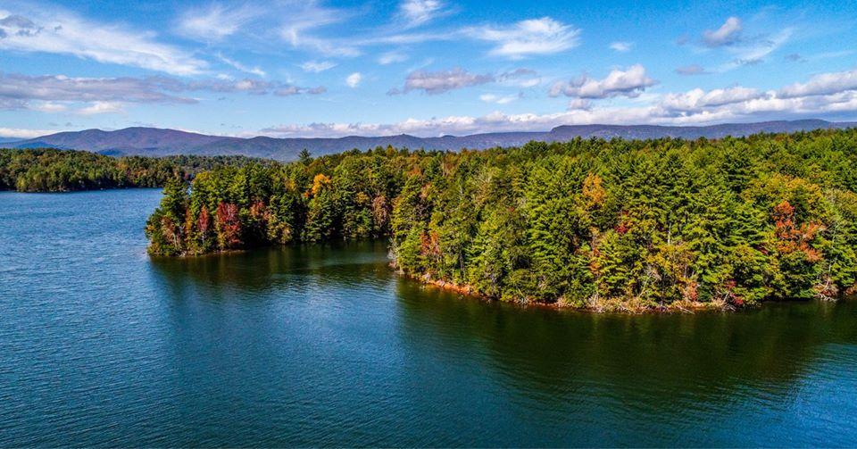 View of Lake James