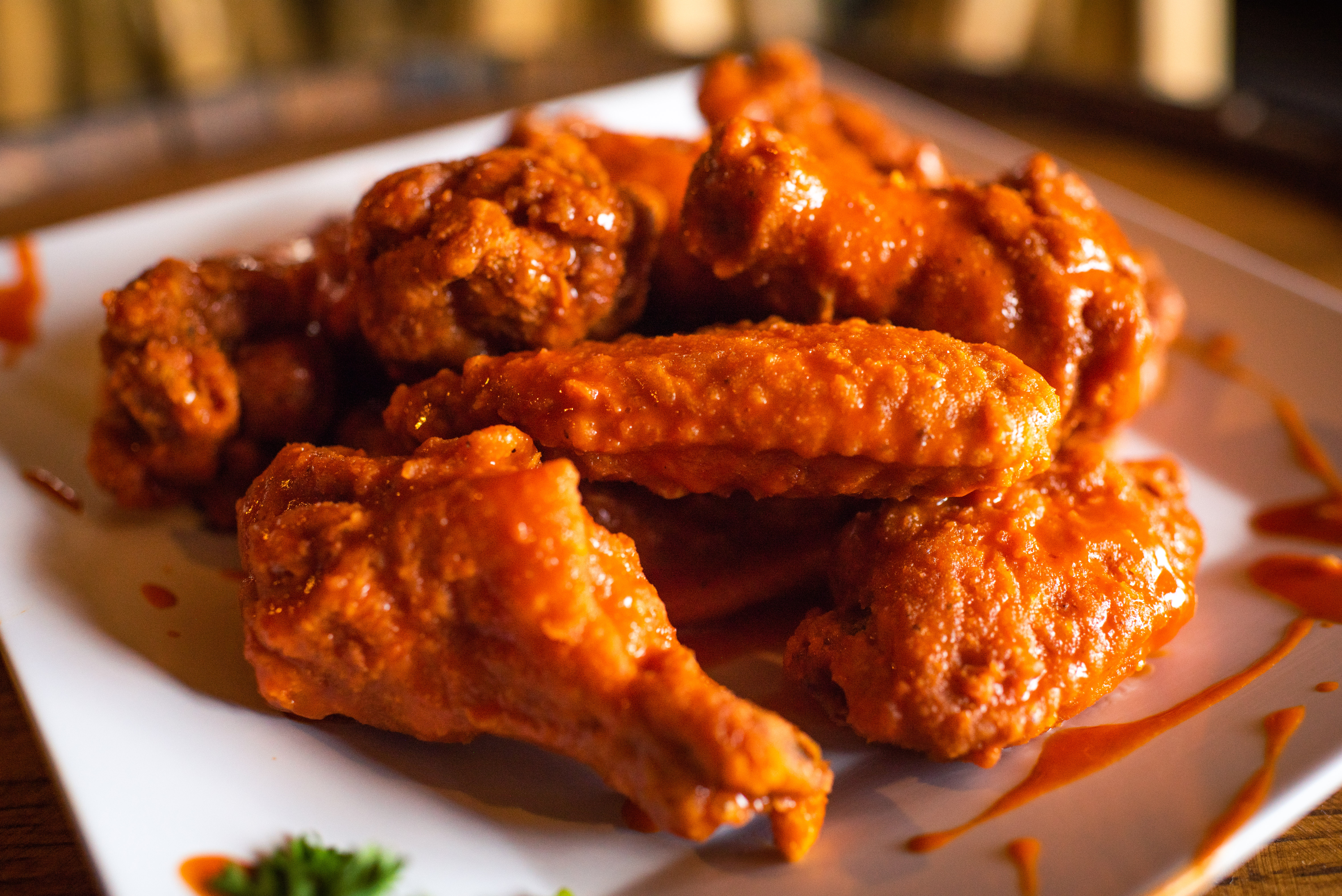 Our famous wings