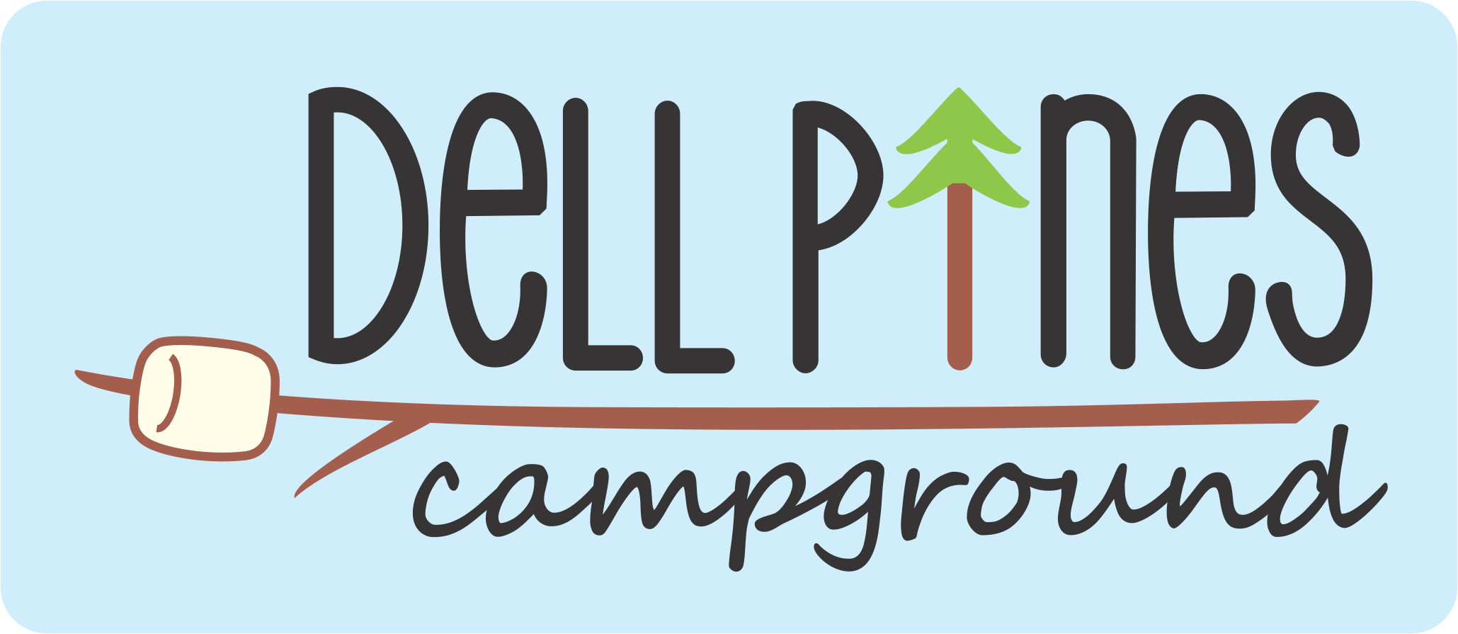 Dell Pines Campground Logo