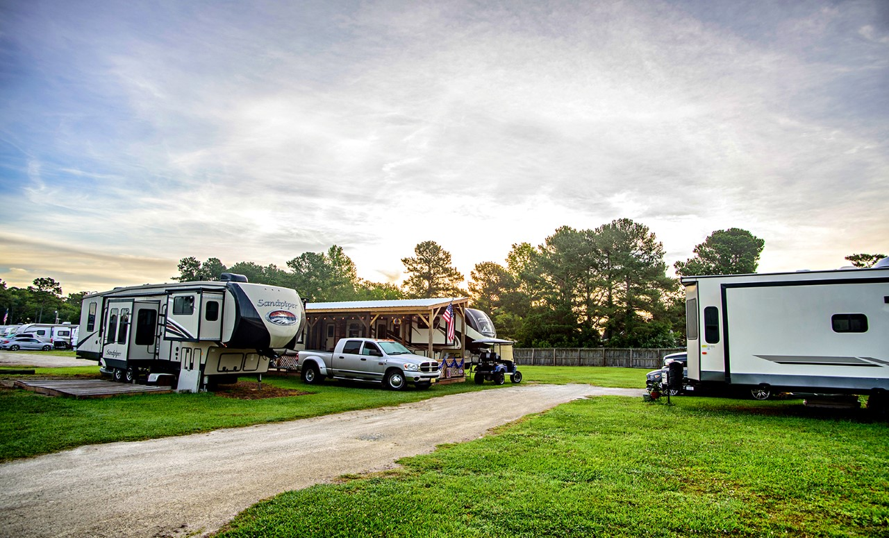 We have space for super large RVs