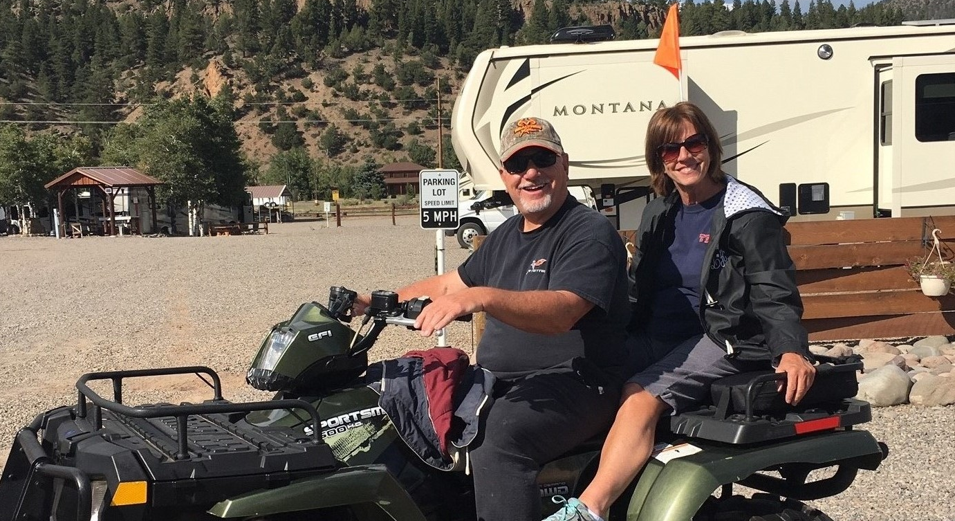 Enjoy riding out of our RV Park directly to local ATV Trails off County Rd 15 (w/town permit)