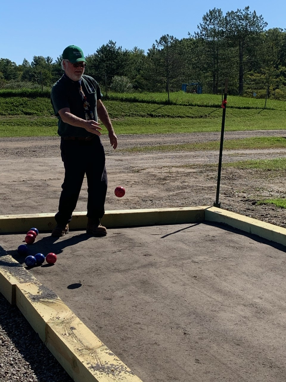 New Bocce Ball Courts- added in 2020