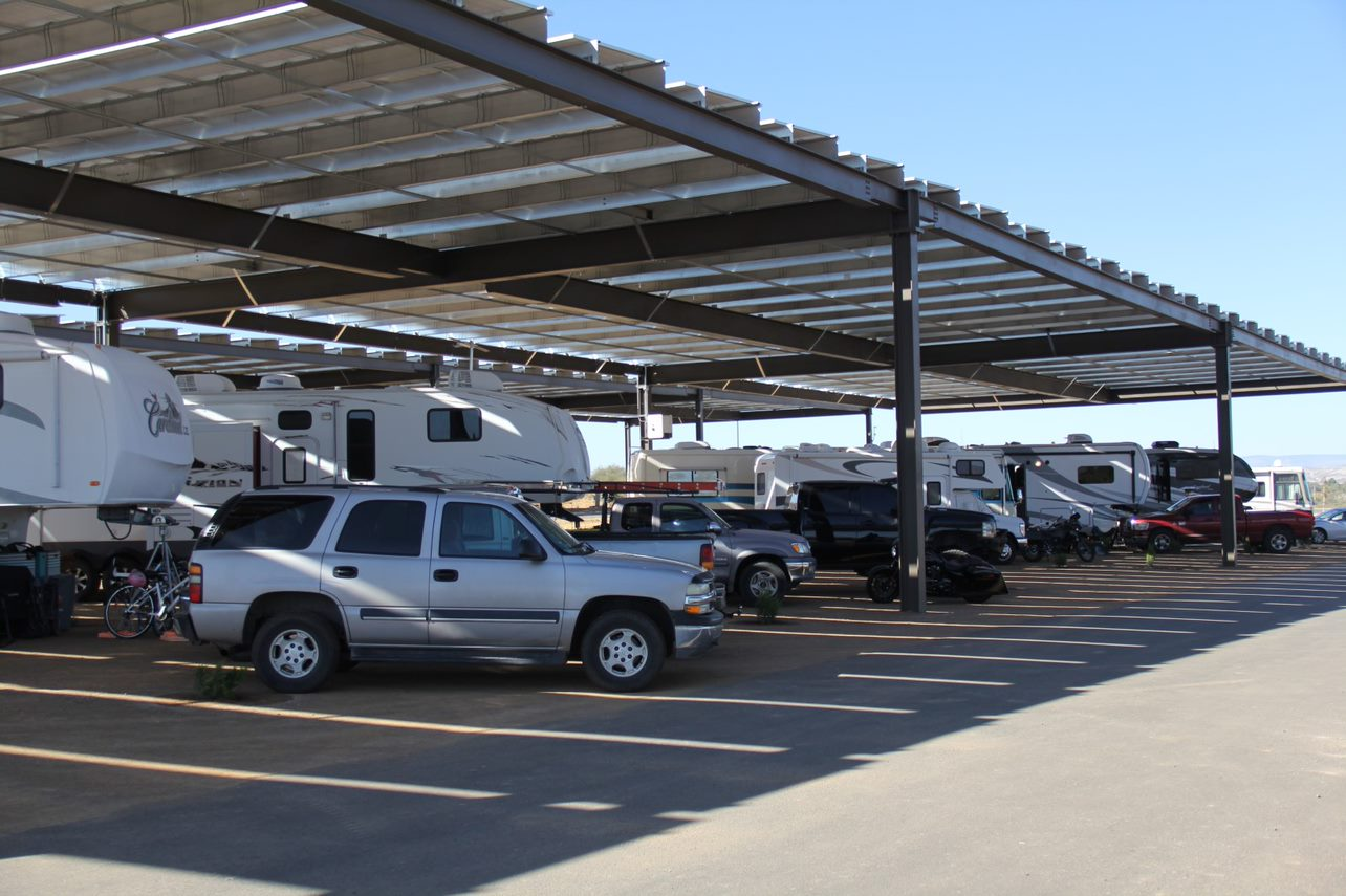 Covered RV Sites