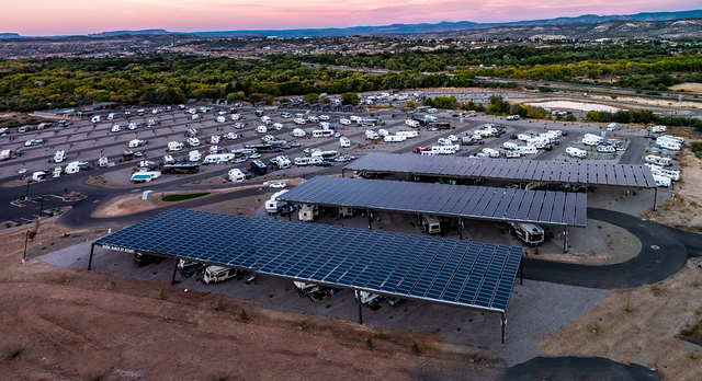 Covered Solar Sites - Back In