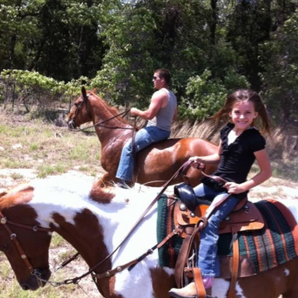 Horseback riding at Colinas RV Park