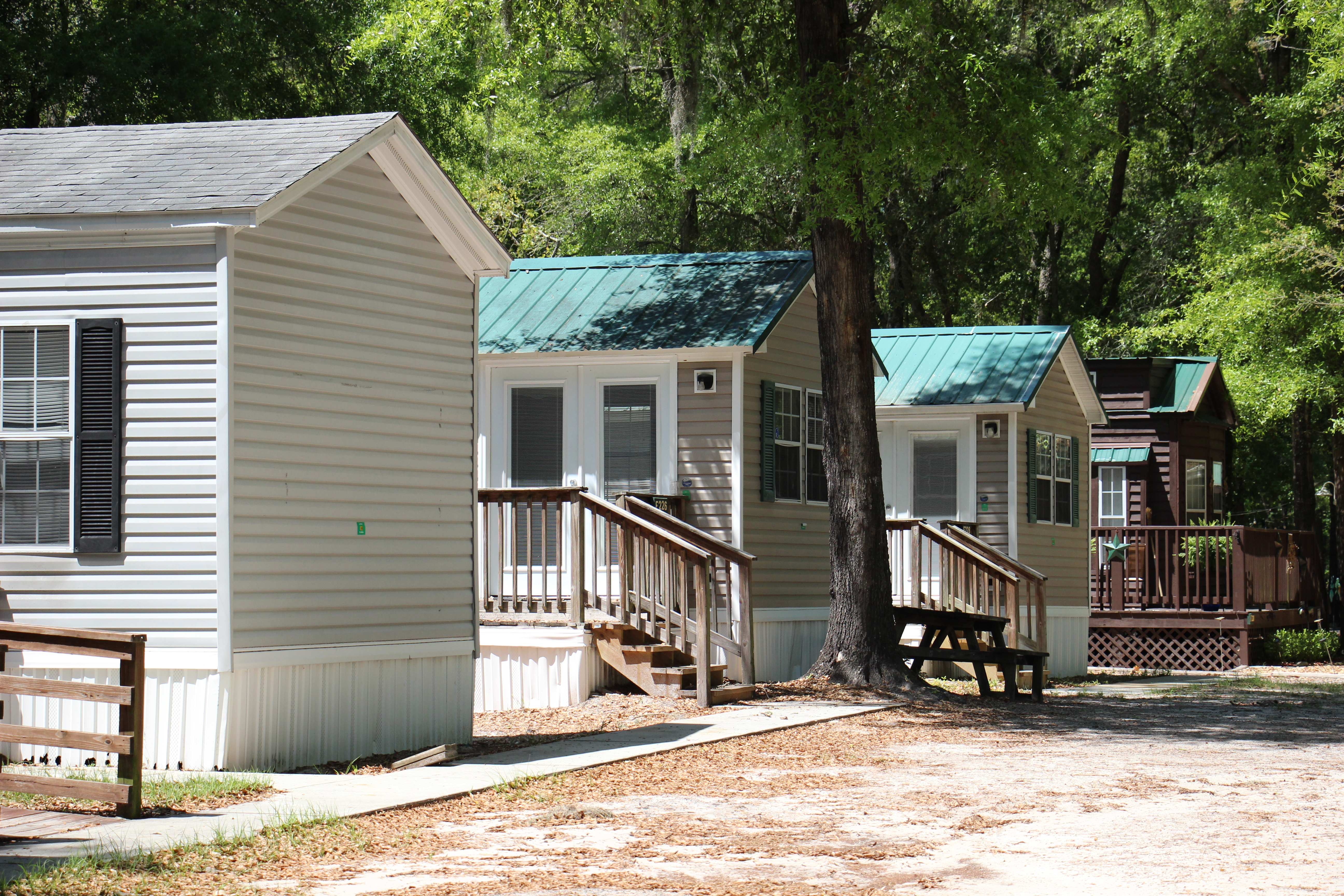 1 and 2BR Cabins