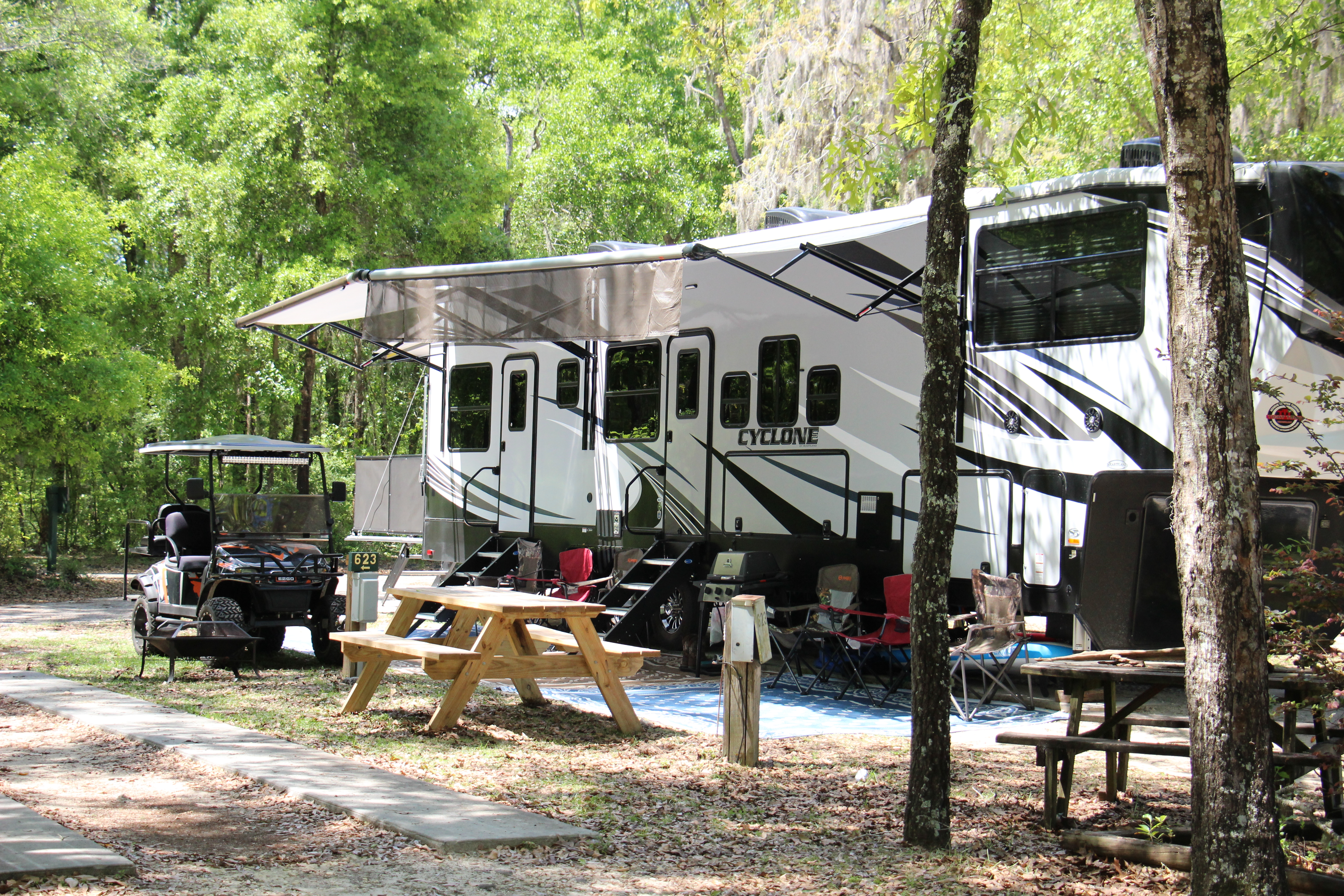 Large Camping sites