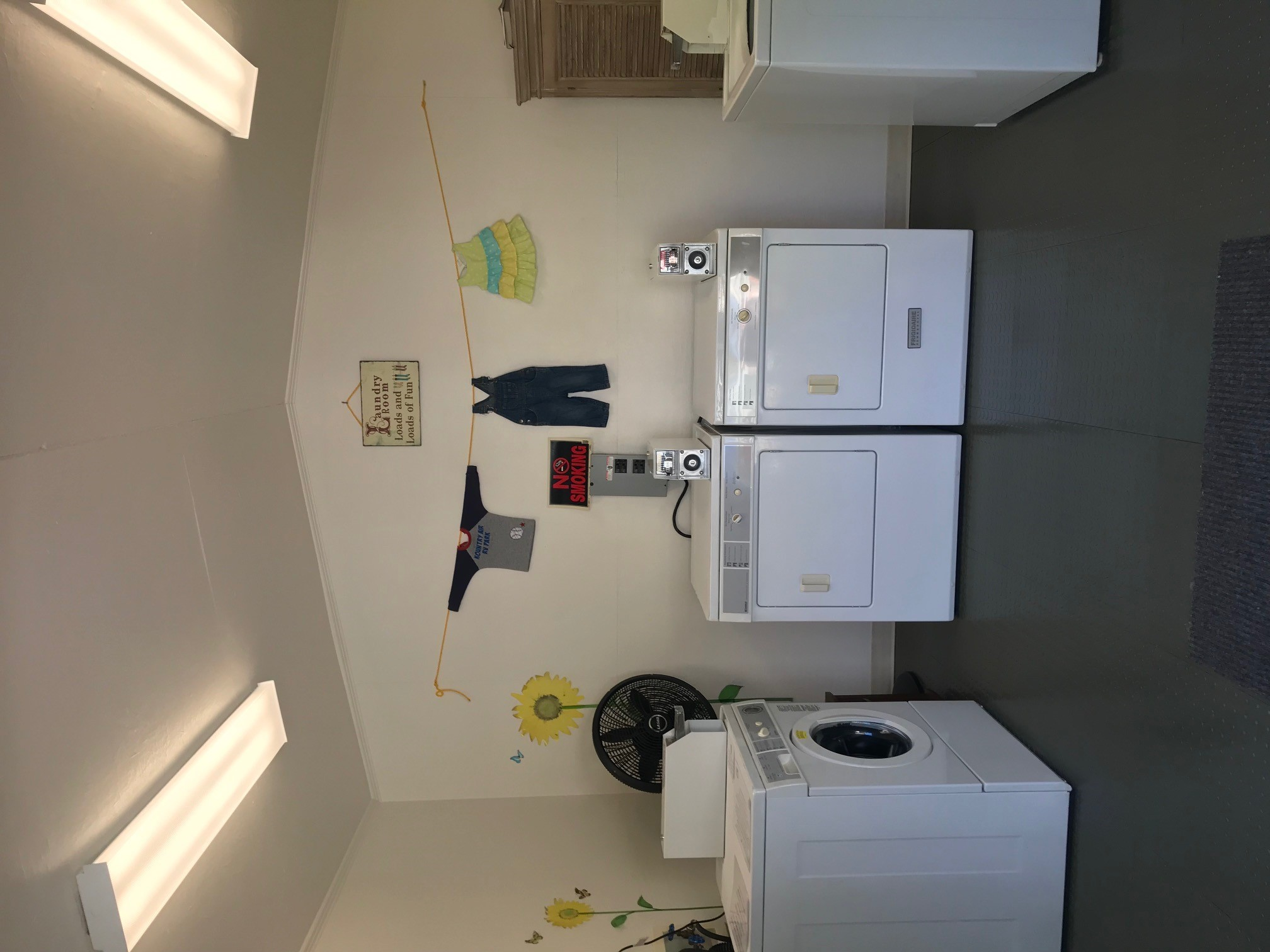 Laundry Facilities - We have 2