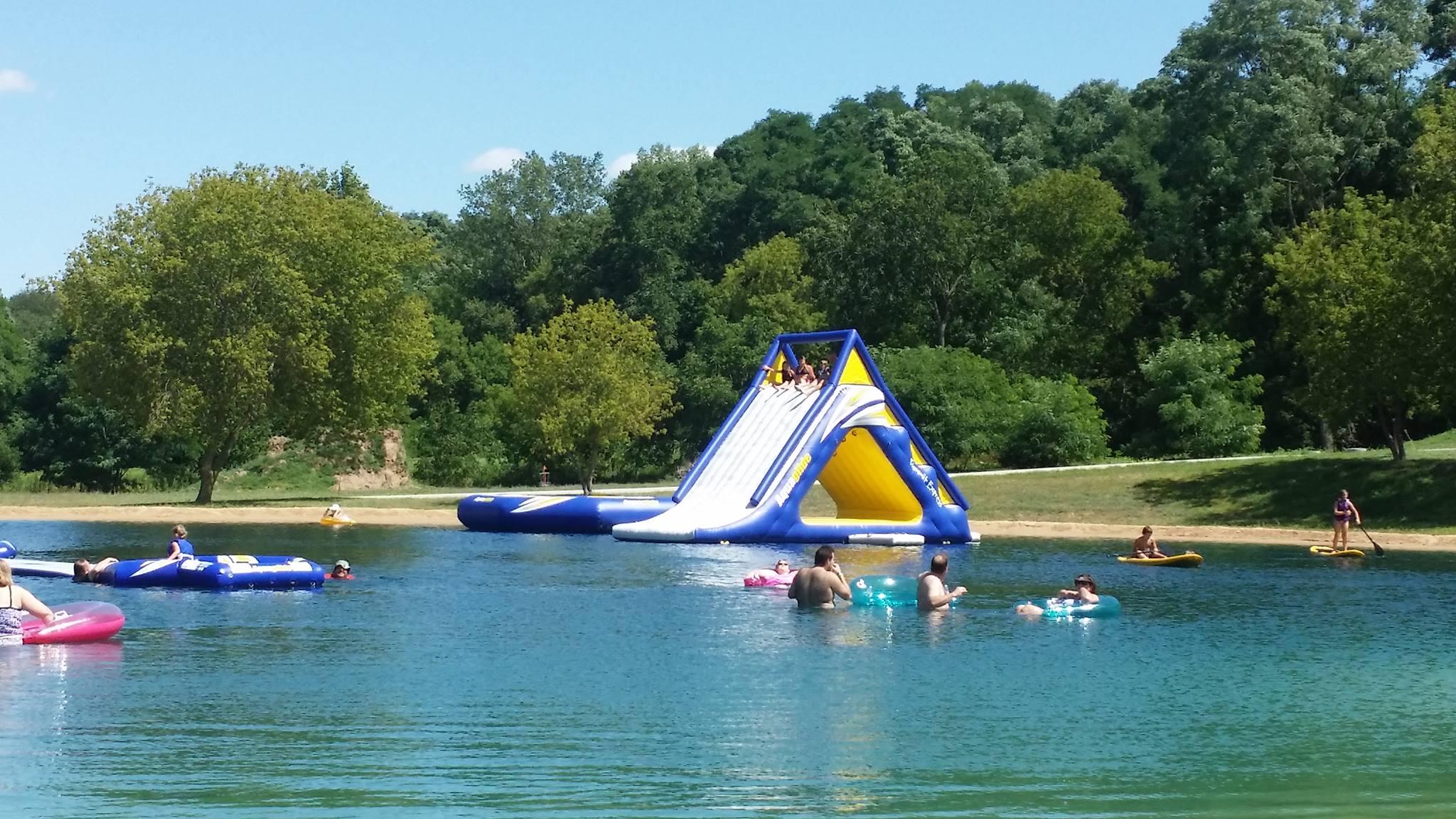 Swim pond water park