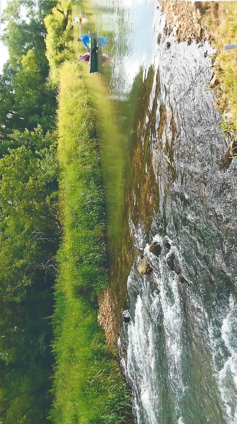 Kayaking the beautiful Little La Crosse River