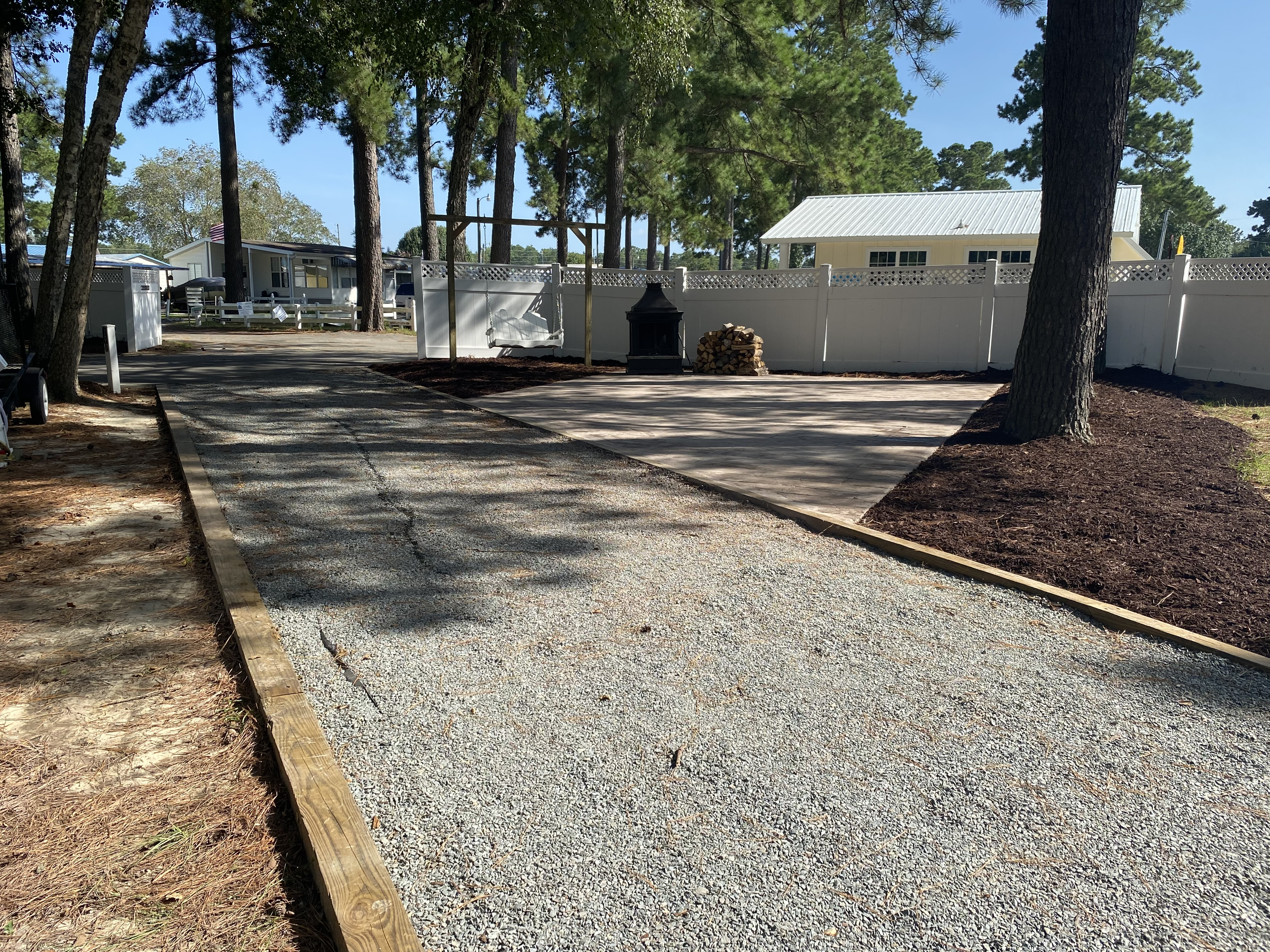 Larger Patio Sites Available