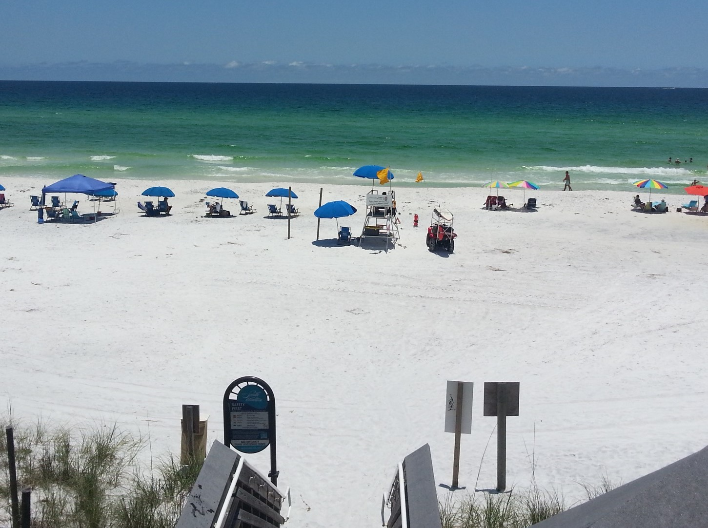 Beautiful Sugar Sand Beach