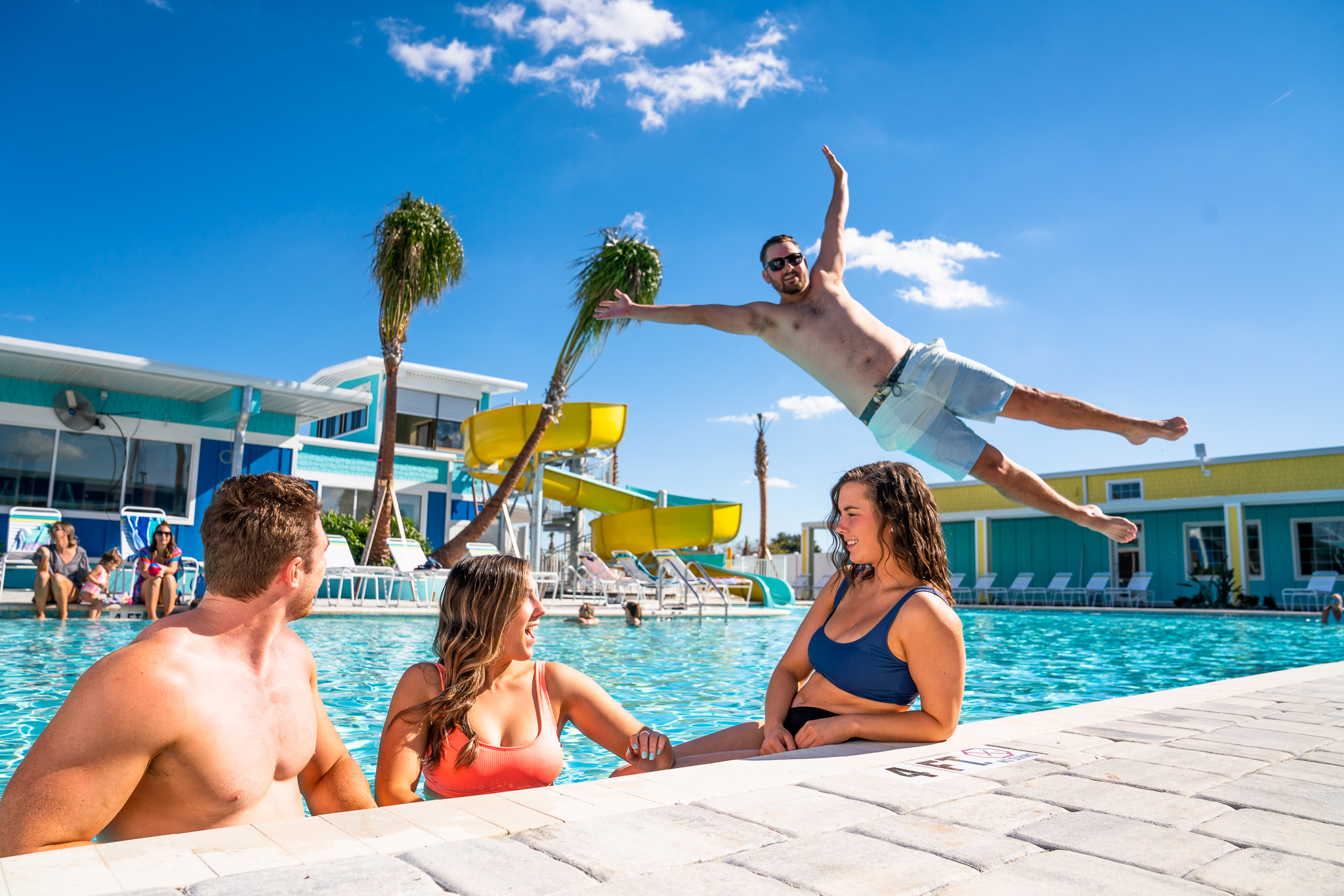 Poolside fun and activities