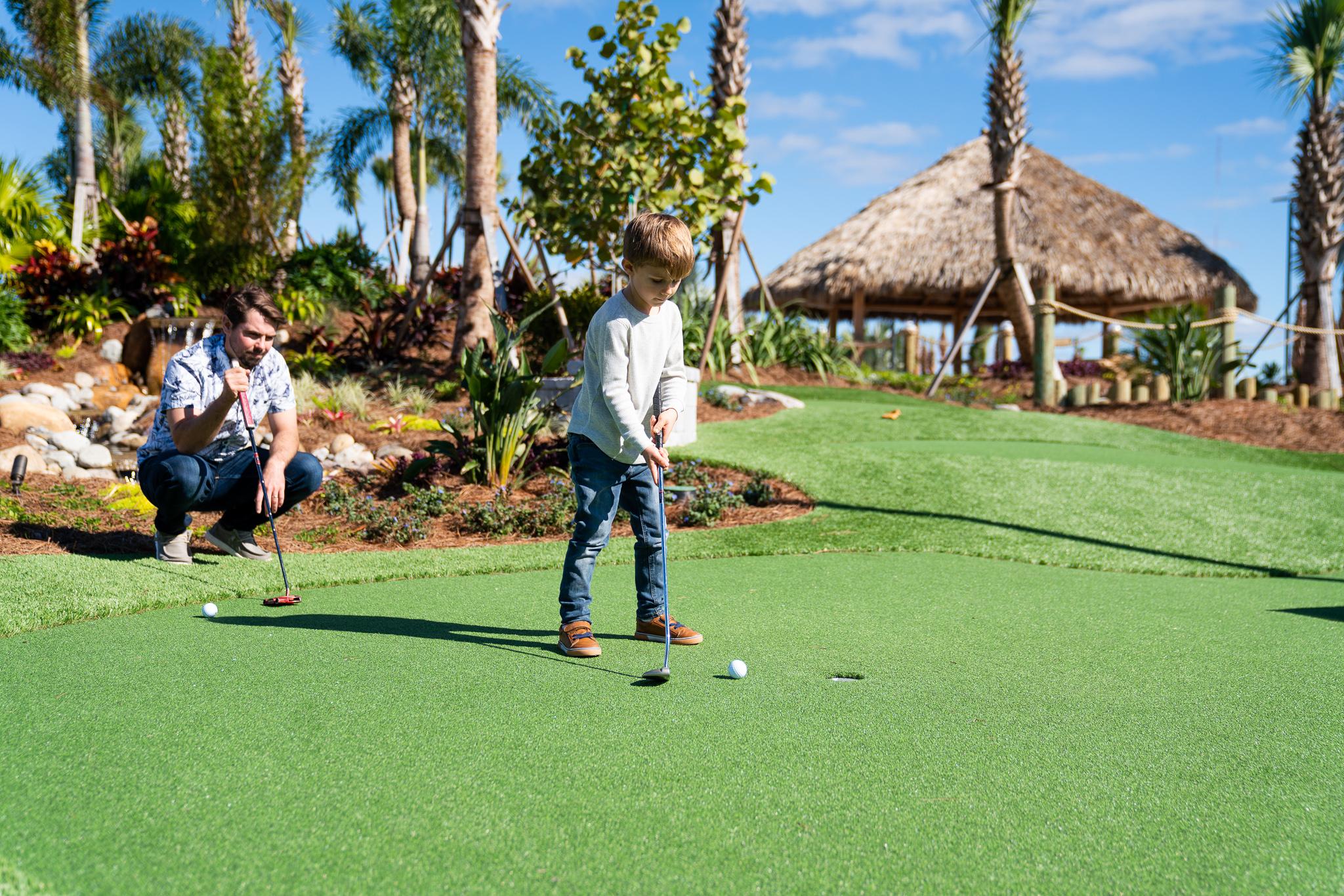 9-hole Mini golf Course