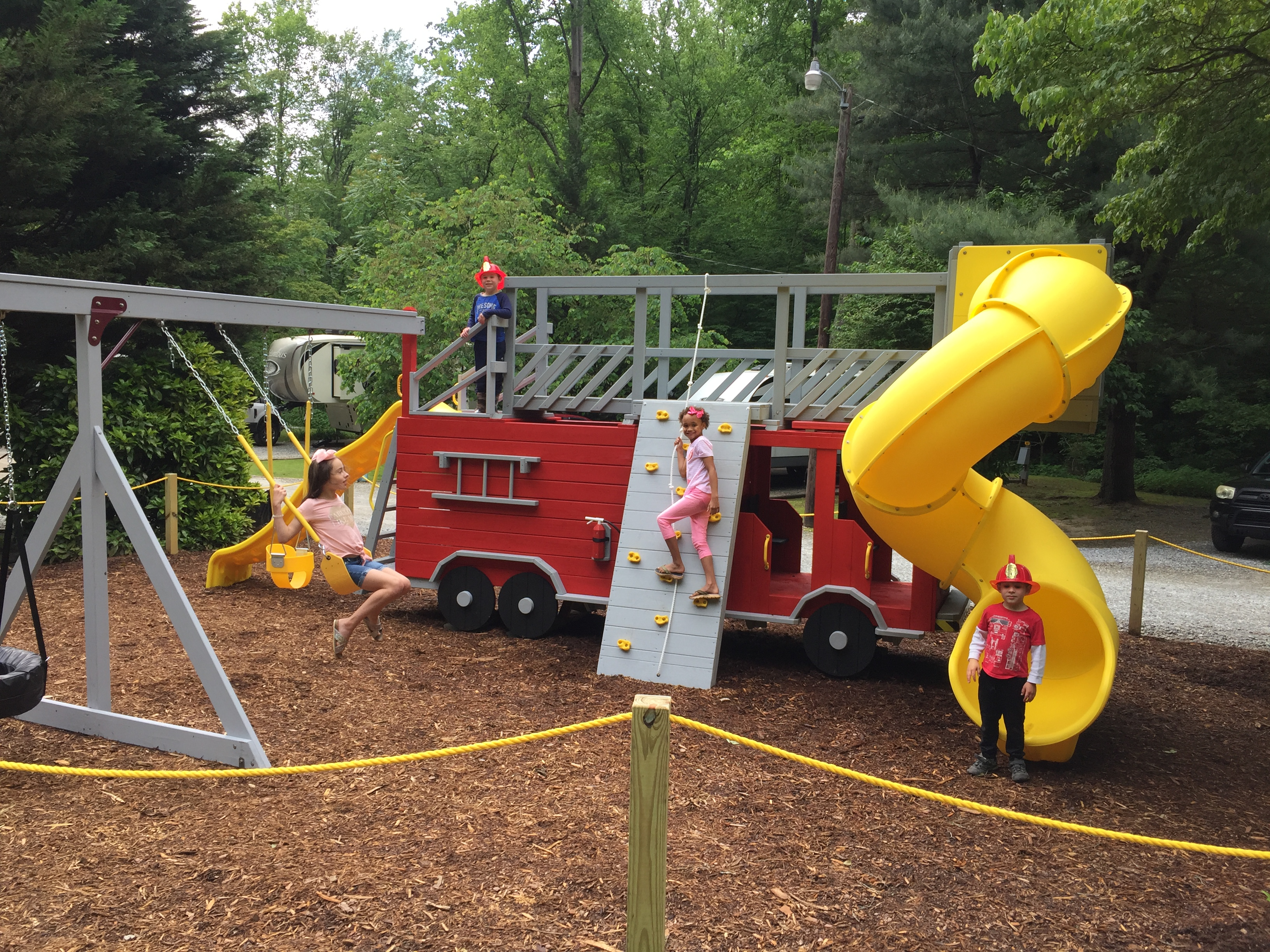 Firetruck Playground
