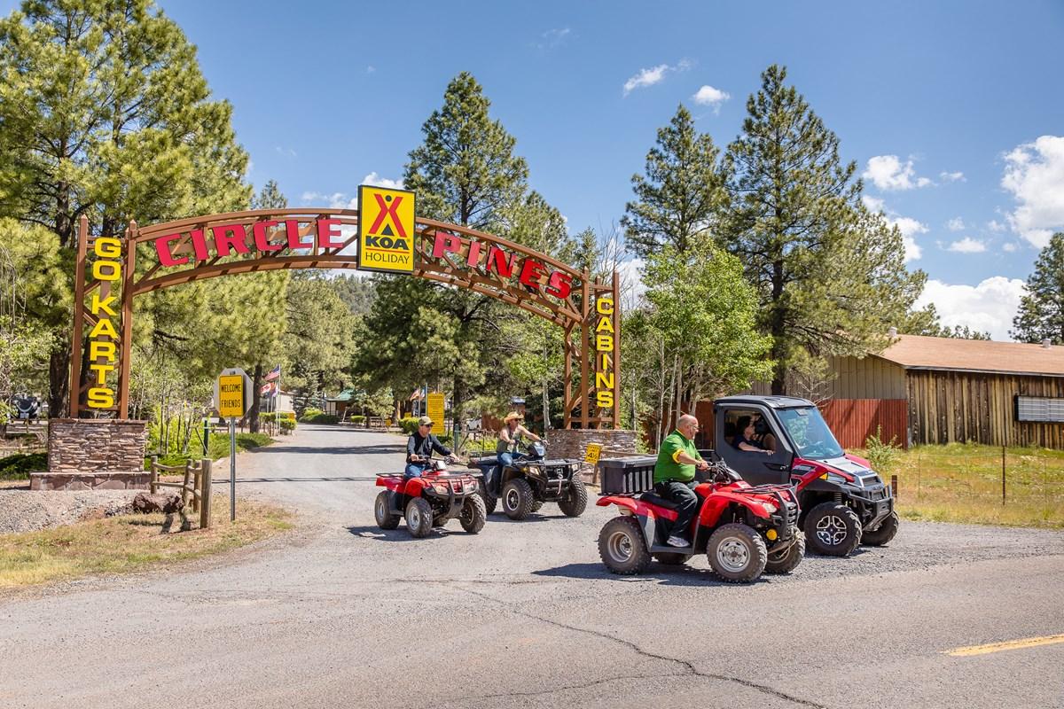 Williams Circle Pines KOA - ATVs