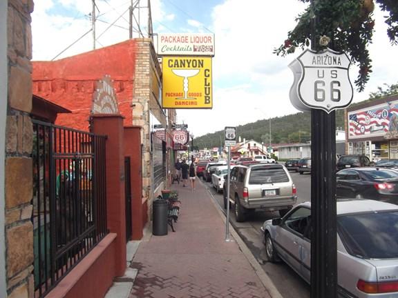 Williams, Arizona and Route 66