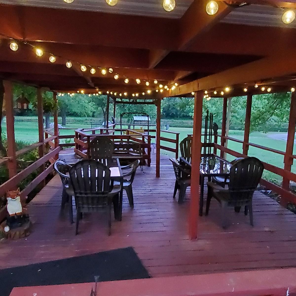 Bowling Green KOA - picnic pavilion