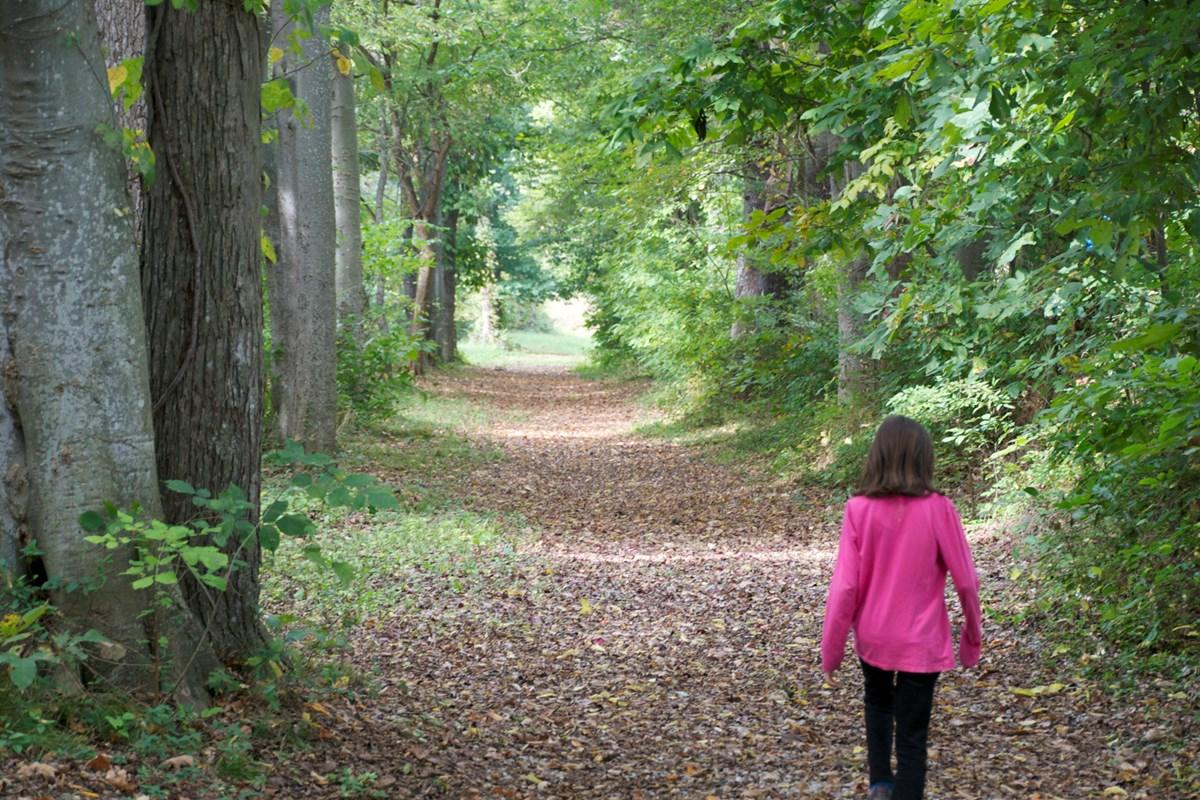 Bowling Green KOA - hiking trail
