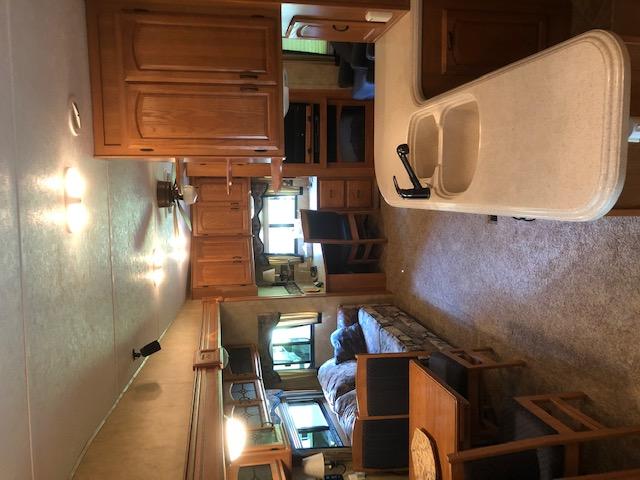 Rental RV interior