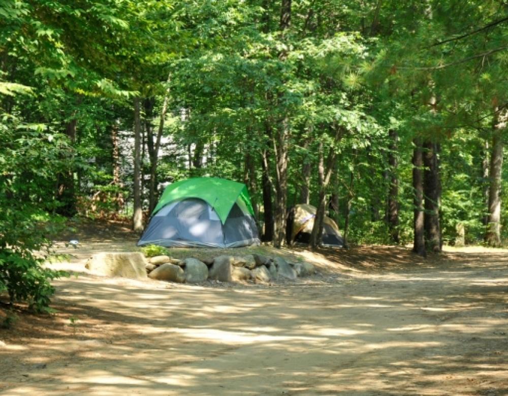 Tuxbury-Tent sites