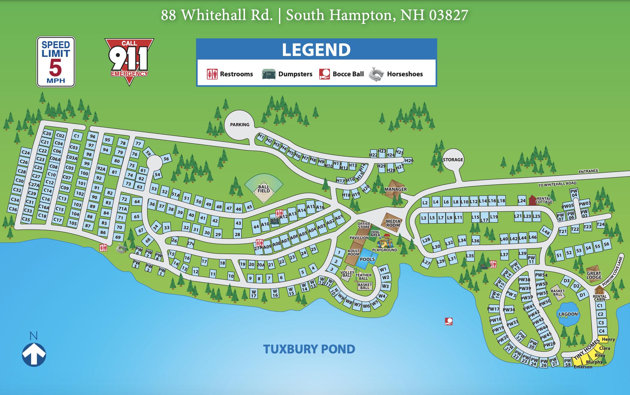 Tuxbury-Park Map