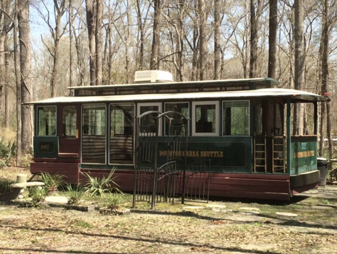 Point South-Trolley Cabin