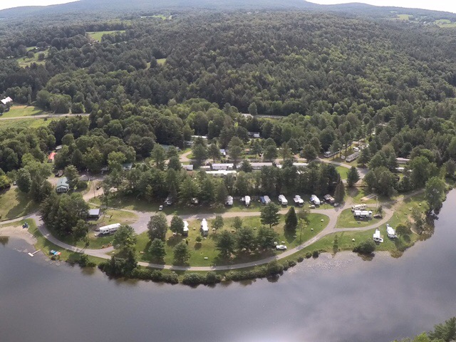 Limehurst Lake Campground-Aerial View
