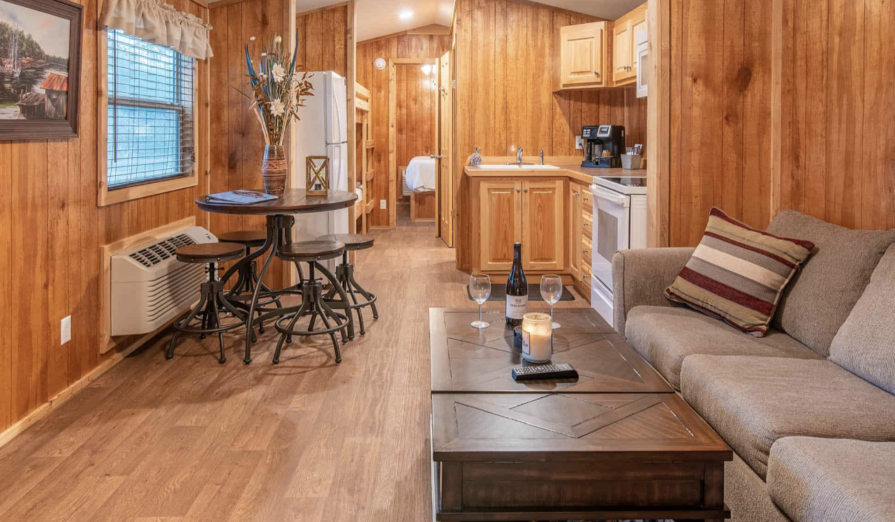 Steinhatchee River Club-Cabin interior
