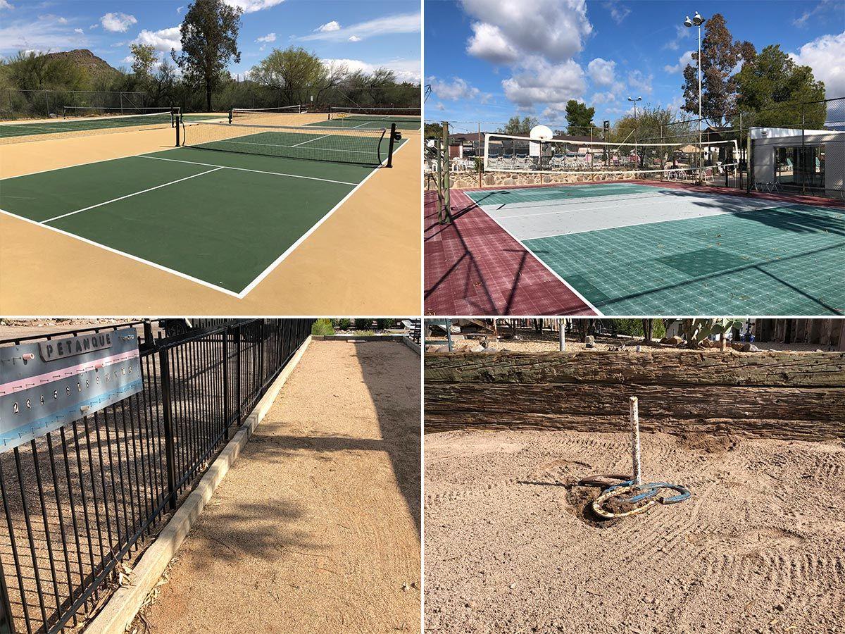 Shangri La Ranch-Sport courts