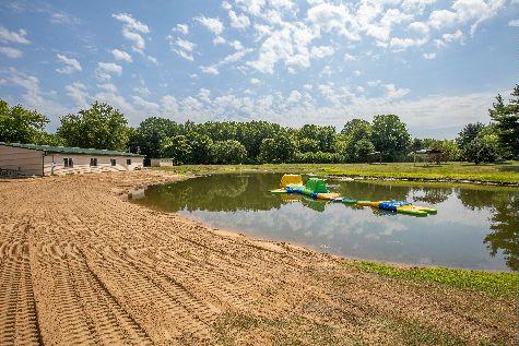 Northwoods RV Resort Pond