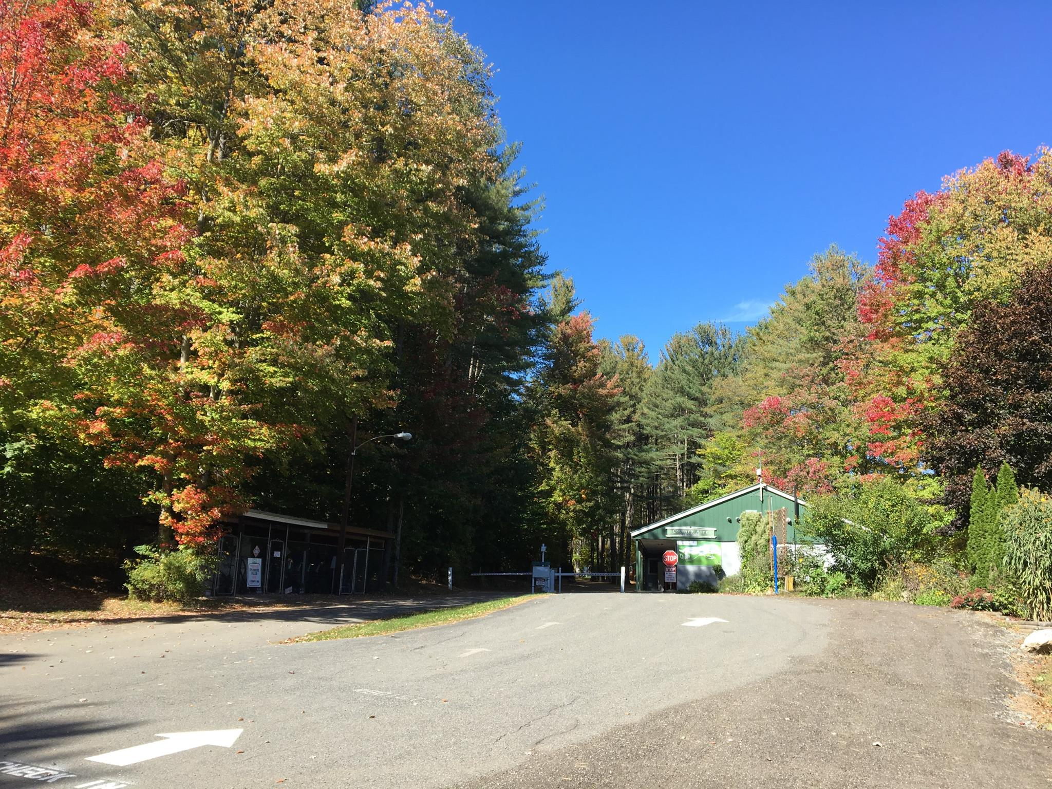Campground Entrance