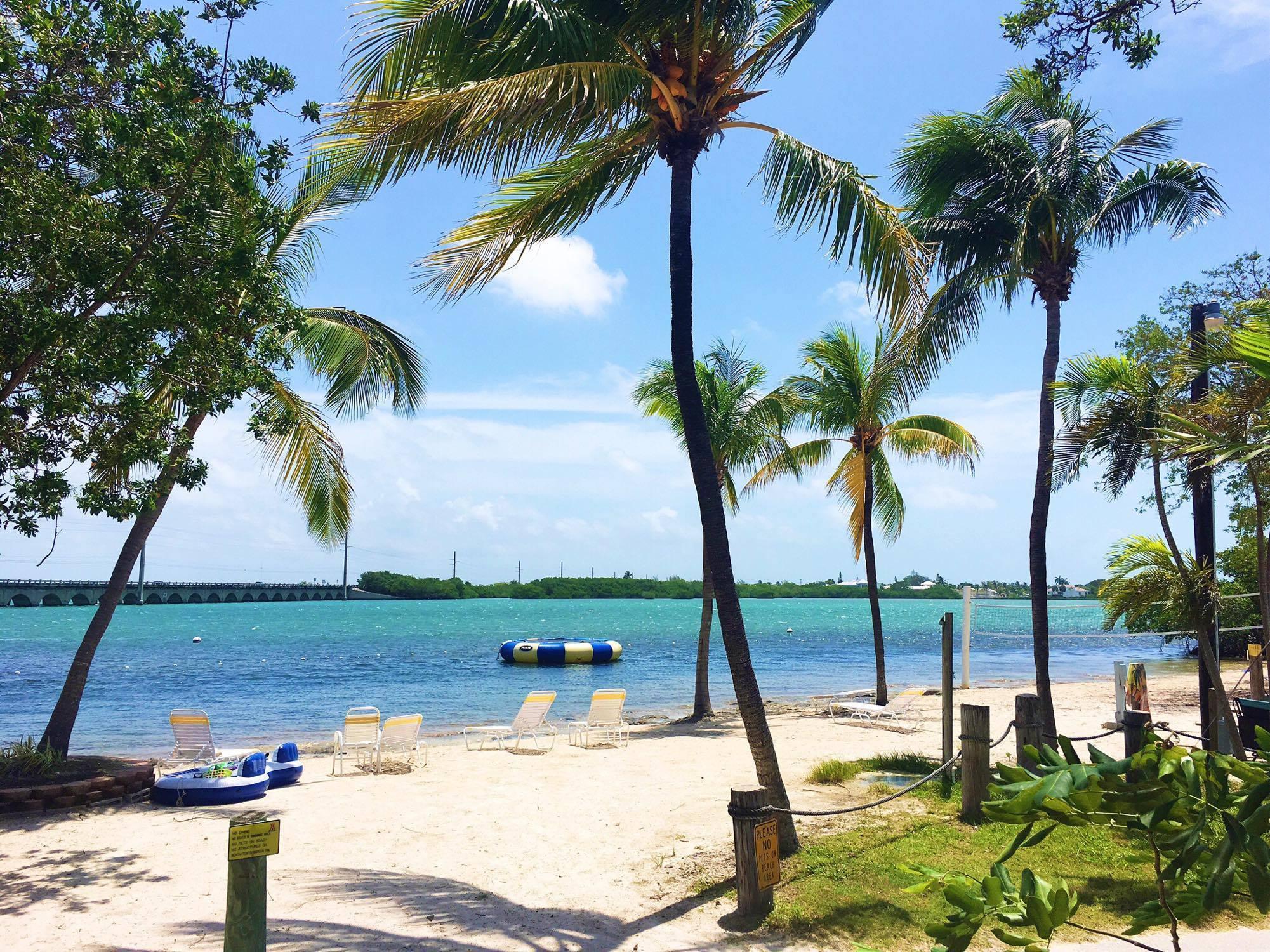 Our own beach